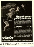 Original-Werbung /Anzeige 1937 - ROBOT KAMERA / BERNING - SCHWELM - Ca. 65 X 100 Mm - Werbung