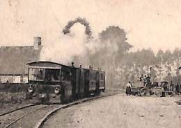 Bixschoote - Smiske Tramstatie (animatie Stoom Paardenstal Feldpost 1915, Zie Zoom) - Langemark-Poelkapelle