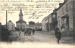 Tellin - Rue De L'Eglise (animée, W V S Edit. Hôtel Golinvaux 1908) - Tellin