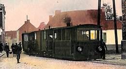Rupelmonde - La Rue De Basel - De Bazelstraat (top Animatie Tram Stoom Tramway Gekleurd, 1910 Zie Zoom) - Kruibeke