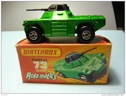 MATCHBOX ROLA-MATICS . 73 WEASEL . VÉHICULE MILITAIRE . TANK - Réf. N°04J - - Tanks