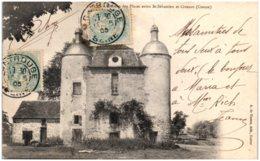 23 ChatEau Des Places Entre SAINT-SEBASTIEN Et CROZANT - Frankreich