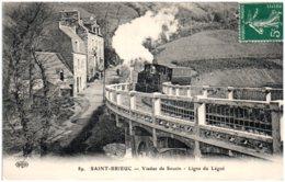 22 SAIINT-BRIEUC - Viaduc De Souzin - Ligne Du Légué - Saint-Brieuc