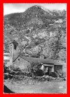 CPSM/gf  LA CORTINADA (Andorre)   Antique Chapelle Romane Sur La Route De Ordino Au Serrat...F075 - Andorra