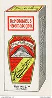 Original-Werbung 1917 - 4-SEITER PROSPEKT  / DR.HOMMEL'S HAEMATOGEN - JE SEITE 80 X 155 Mm - Werbung