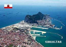 Gibraltar Rock Aerial View New Postcard - Gibilterra