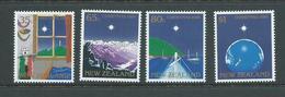 New Zealand 1989 Christmas Set 4 MNH - Nueva Zelanda