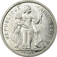 Monnaie, French Polynesia, 2 Francs, 1965, SUP+, Aluminium, KM:3 - Polynésie Française