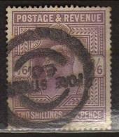 GB 1902 - Alti Valori 2/6 S. Firmato Raybaudi          (g537) - 1902-1951 (Re)