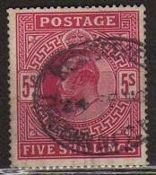 GB 1902 - Alti Valori 5 S. Firmato Raybaudi          (g538) - 1902-1951 (Re)