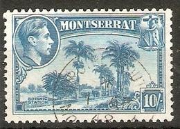 MONTSERRAT 1948 10s SG 111 FINE USED Cat £24 - Montserrat