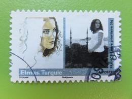 "Timbre France YT 284 AA - Art - ""Femmes Du Monde"" Par Titouan Lamazou - Elmas (Turquie) - 2009 - Autoadesivi"