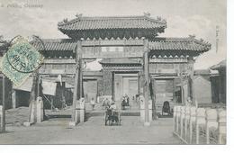 Carte Postale De Peking Gateway  Pour Toulouse - China