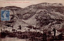 HAUTES ALPES - TRESCLEOUX - 8-9-1926  - SEMEUSE - VUE GENERALE - CACHET T84 REPETE AU VERSO. - Postmark Collection (Covers)