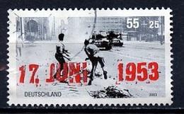 Allemagne Fédérale - Germany - Deutschland 2003 Y&T N°2169  - Michel N°2342 (o) - 55c+25c émeutes Du 17 Juin 1953 - [7] République Fédérale