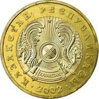 Monnaie, Kazakhstan, 100 Tenge, 2002, Kazakhstan Mint, TTB, Bi-Metallic, KM:39 - Kazakhstan
