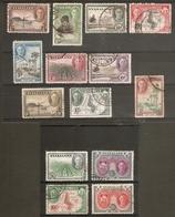 NYASALAND 1945 SET SG 144/157 FINE USED Cat £80 - Nyassaland (1907-1953)