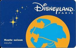 PASS--DISNEY-DISNEYLAND PARIS-1998-HERCULE ADULTE-V° SerieN°98054H-V°VALIDE 1 JOUR LE 180798TBE - Toegangsticket Disney