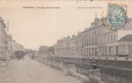 10 - TROYES - Les Quais Du Canal - Troyes