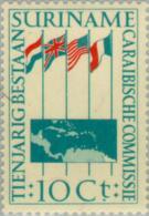 Suriname 1956 10 Jaar Caraibische Commissie - MNH** Postfris - Suriname ... - 1975