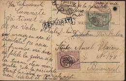 Roumanie YT 237 259 CAD Calimanesti 18 VIII 919 Censurat La Baille Calimanesti Vedere De Pe Valea Oltului Arrivée 24 Aug - World War 1 Letters