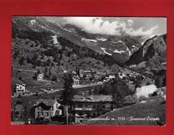 Valle D'Aosta - VALTOURNANCHE Frazione CREPEN..  Viaggiata 1962.  Vedi Descrizione - Italia