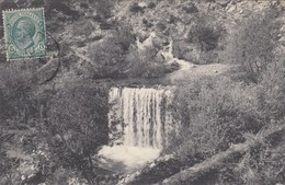VIEVOLA-CUNEO-VALLE ROIA-IL FONTANONE(SORGENTE DEL ROIA)-CARTOLINA VIAGGIATA IL 10-8-1908 - Cuneo