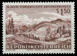 ÖSTERREICH 1971 Nr 1373 Postfrisch S5AD986 - 1971-80 Neufs