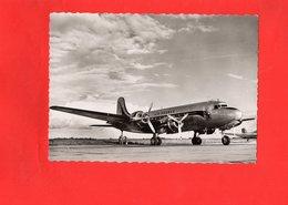 """F0205 - DOUGLAS DC4 """"SKYMASTER"""" En Service Sur Les Lignes AIR FRANCE - Other"""