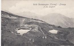 LIMONE-CUNEO-VAL VERMAGNA-I DUE LAGHETTI-CARTOLINA NON VIAGGIATA ANNO 1915-1925 - Cuneo