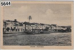 Loano - Panorama 18.7.1950 - Savona