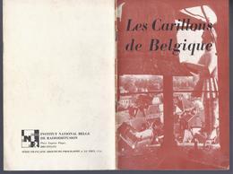 RARE 1938 LES CARILLONS DE BELGIQUE L. RIZZARDI - MONS MALINES ANVERS GAND BRUGES ALOST LOUVAIN TOURNAI CHARLEROI HUY L - Livres, BD, Revues