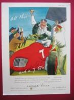 ABDULLA NUMBER SEVEN CIGARETTES. 0RIGINAL 1952 MAGAZINE ADVERT - Advertising