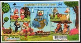 NETHERLANDS, 2018, MNH, CHILDREN'S STAMPS, OWLS, BIRDS, SHEETLET - Childhood & Youth