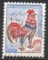 FRANCE N° 1331 O Y&T 1962-1965 Coq De Decaris - 1962-65 Cock Of Decaris