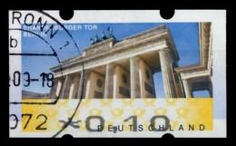 BRD ATM 2008 Nr 6-x-010 Gestempelt X75BE7E - Automatenmarken