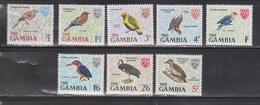 GAMBIA Scott # Between 215 - 225 MNH - Birds - Gambia (1965-...)