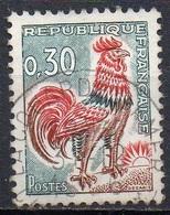 FRANCE N° 1331A O Y&T 1962-1965 Coq De Decaris - 1962-65 Cock Of Decaris