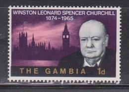 GAMBIA Scott # 212 MH - Sir Winston Churchill - Gambia (1965-...)