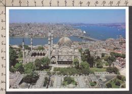 86385GF/ ISTANBUL, The Blue Mosque, Galata Bridge And Bosphorus - Turquie