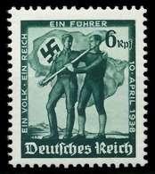 DEUTSCHES REICH 1938 Nr 663 Postfrisch X87C30E - Allemagne