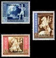 DEUTSCHES REICH 1942 Nr 823-825 Postfrisch S806BC2 - Allemagne