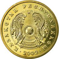 Monnaie, Kazakhstan, 5 Tenge, 2002, Kazakhstan Mint, TTB, Nickel-brass, KM:24 - Kazakhstan