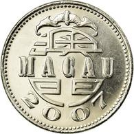 Monnaie, Macau, Pataca, 2007, British Royal Mint, TTB, Copper-nickel, KM:57 - Macao