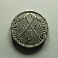 Southern Rhodesia 6 Pence 1950 - Rhodesia