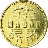 Monnaie, Macau, 10 Avos, 2007, British Royal Mint, SUP, Laiton, KM:70 - Macau