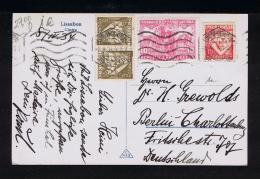 PORTUGAL Cover (old Postcard Cintra 1934) Additional Padrões Da Grande Guerra Gc1492 - Non Classés