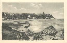 """CPA FRANCE 85 'Ile De Noirmoutier, Plage Des Souzeaux"""" - Ile De Noirmoutier"""