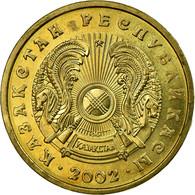 Monnaie, Kazakhstan, 10 Tenge, 2002, Kazakhstan Mint, TTB, Nickel-brass, KM:25 - Kazakhstan
