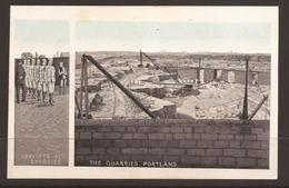 GREAT BRITAIN. EDWARDIAN ERA POSTCARD. PORTLAND QUARRIES & CONVICTS. B & R SERIES. UNUSED - Gevangenis